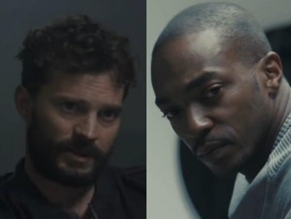 """Jamie Dornan e Anthony Mackie em trailer de """"Synchronic"""" (Reprodução)"""