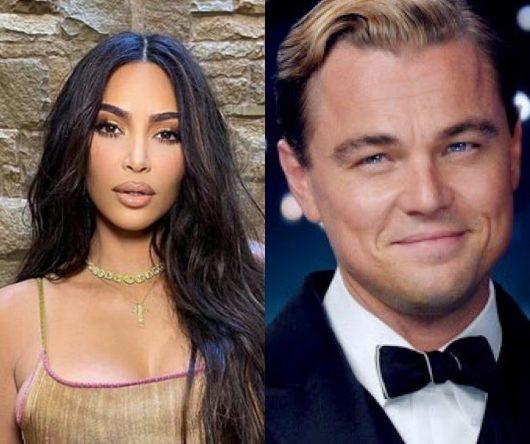 """Kim Kardashian em foto postada no Instagram e Leonardo DiCaprio em """"O Grande Gatsby"""" (Reprodução)"""