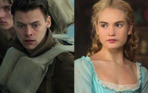 Harry Styles e Lily James estão em negociação para estrelar filme sobre romance gay