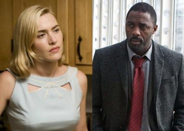 """Kate Winslet em """"Foi Apenas Um Sonho"""" e Idris Elba em """"Luther"""" (Reprodução)"""