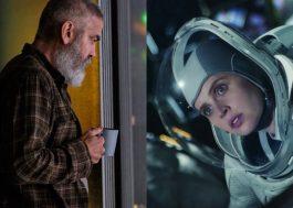 George Clooney e Felicity Jones estão nas primeiras fotos do novo drama espacial da Netflix