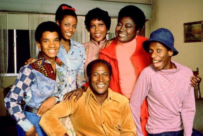 """Elenco da sitcom """"Good Times"""" (Divulgação)"""