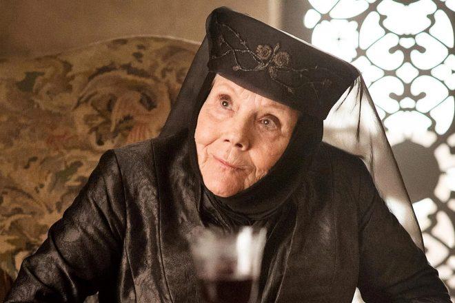 """Diana Rigg como Olenna Tyrell na série """"Game Of Thrones"""" (Reprodução)"""