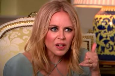 Quase não rolou Kylie no Brasil