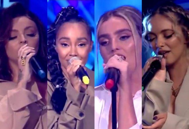 Little Mix no Live Lounge, da BBC Radio 1 (Reprodução)