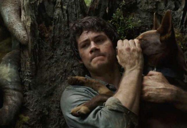 """Dylan O'Brien em cena do filme """"Love and Monsters"""" (Reprodução)"""