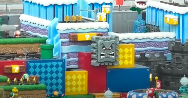 Foto mostrando parque Super Nintendo World no Japão (Reprodução)