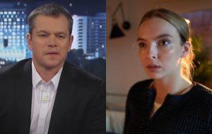 """Matt Damon e Jodie Comer retornam às gravações de """"The Last Duel"""", filme dirigido por Ridley Scott"""