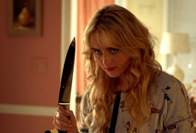 "Kathryn Newton em cena do filme ""Freaky"" (Reprodução)"