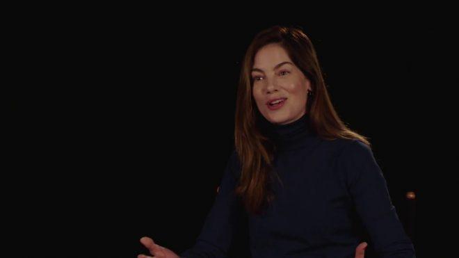 Michelle Monaghan em entrevista (Reprodução)