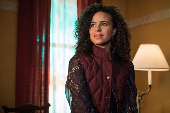 """Parisa Fitz-Henly em """"Jessica Jones"""" (Reprodução)"""