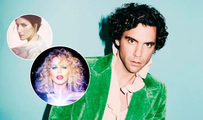 Mika, Laura Pausini e Kylie Minogue (Foto: Divulgação)