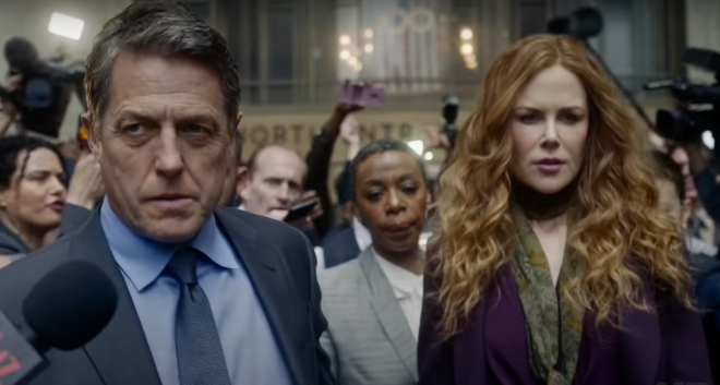 """Nicole Kidman e Hugh Grant no trailer de """"The Undoing"""" (Reprodução)"""