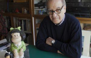 Morre aos 88 anos Quino, cartunista argentino criador de Mafalda