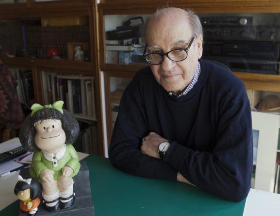 O cartunista argentino Quino (Foto: Getty Images)