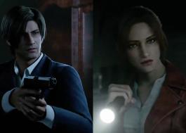 """Leon Kennedy e Claire Redfield aparecem em prévia da animação """"Resident Evil: Infinite Darkness"""""""