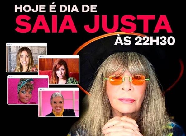 Considerada Mãe do rock brasileiro, Rita Lee fez parte da primeira formação de apresentadoras do programa (Foto: Divulgação)