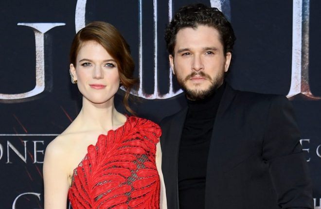Kit Harington e Rose Leslie (Getty Images)