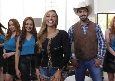 """Sabrina Sato em """"Game dos Clones"""" (Divulgação Endemol Shine Brasil)"""