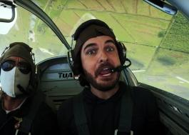 """Simão encara aventura no céu para o clipe de """"Sugestões"""""""
