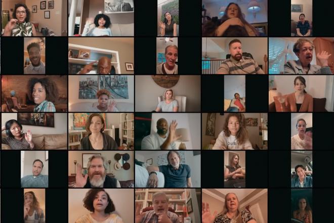 """Frame do trailer do """"Social Distance"""" (Reprodução)"""
