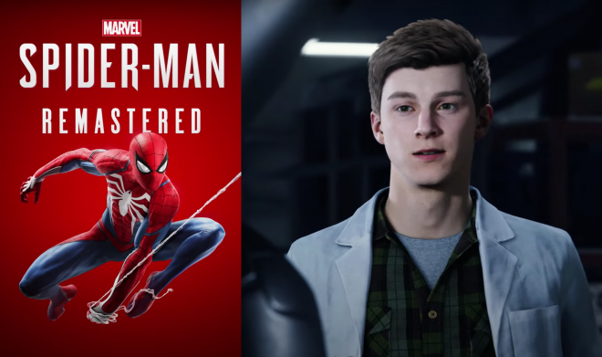 """Pôster de novo jogo (Divulgação)/Teaser de """"Spider-Man Remastered"""" (Reprodução)"""