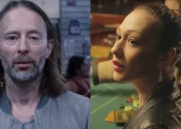 Thom Yorke, do Radiohead, se casa com a atriz Dajana Roncione na Itália