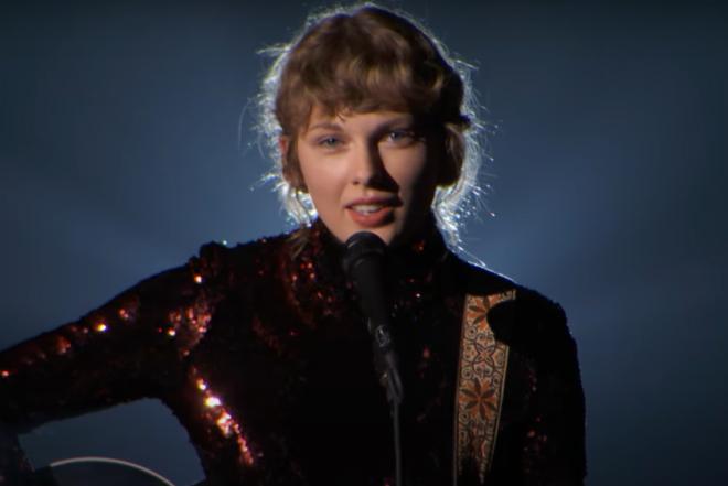 Taylor Swift no ACM Awards (Reprodução)