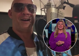 "Vin Diesel cantando? Ator estreia música ""Feel Like I Do"" no programa de Kelly Clarkson"