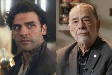 """Oscar Isaac em """"Star Wars"""" e Francis Ford Coppola em entrevista (Reprodução)"""