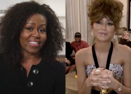 "Michelle Obama parabeniza Zendaya pela vitória no Emmy: ""Estou muito orgulhosa"""