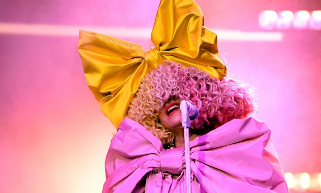 Sia no BBMAs (Getty Images)