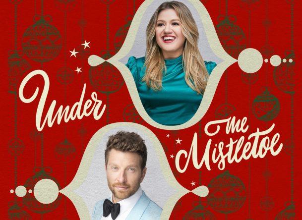 Kelly Clarkson e Brett Eldredge em capa do single (Divulgação)