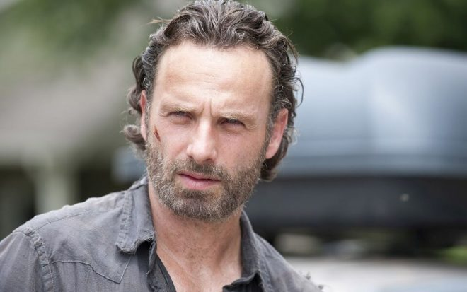 """Andrew Lincoln em """"The Walking Dead"""" (Reprodução)"""