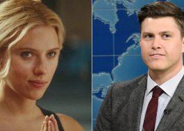 Scarlett Johansson se casa com o comediante Colin Jost em cerimônia intimista