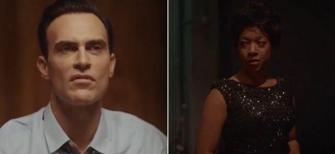"""Cheyenne Jackson e Samira Wiley em teaser de """"Equal"""" (Reprodução)"""