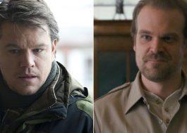 Matt Damon fará participação em filme de suspense do HBO Max estrelado por David Harbour