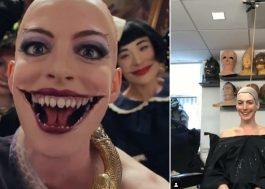 """Anne Hathaway mostra processo para criar visual assustador de """"Convenção das Bruxas"""""""