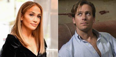 """Jennifer Lopez em trailer de """"Second Act"""" (Reprodução)/Armie Hammer em cena de """"Me Chame Pelo Seu Nome"""" (Reprodução)"""