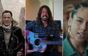 Bruce Springsteen, Dave Grohl, Alicia Keys e mais irão participar de especial do Hall da Fama do Rock