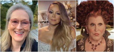 Meryl Streep, Mariah Carey e Bette Midler em especial de Halloween (Reprodução)