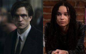 """Robert Pattinson e Zoë Kravitz gravam cena de funeral em novas fotos do set de """"The Batman"""""""