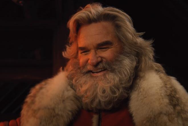 """Kurt Russel como Papai Noel em trailer de """"Crônicas de Natal 2"""" (Reprodução)"""