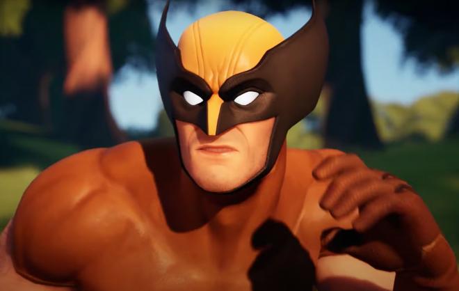 """Wolverine no jogo """"Fortnite"""" (Reprodução)"""