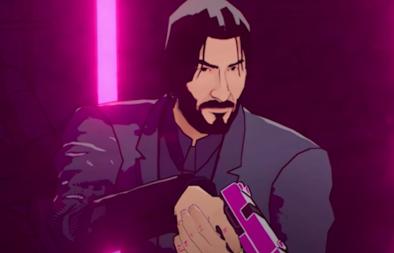 """Cena do trailer de """"John Wick Hex"""" (Reprodução)"""
