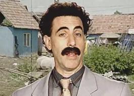 Aquecendo para lançamento de novo filme, Borat manda recado para fãs brasileiros