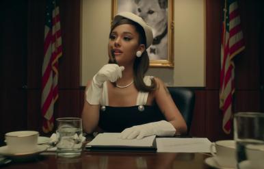 """Ariana presidente em """"Positions"""""""