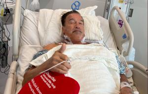 """Arnold Schwarzenegger passa por cirurgia cardíaca: """"Me sinto fantástico"""""""