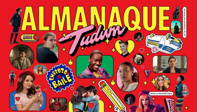 Pôster do Almanaque Tudum online (Divulgação)