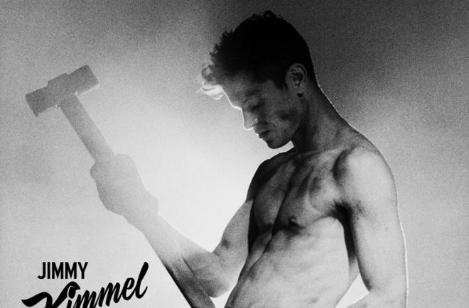 """Genius em foto do programa """"Kimmel Live"""" (Divulgação)"""